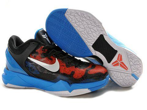 buy online cdea2 b72fd Nike Zoom Kobe 7 Poison Dart Frog Red Black Blue,Style code 488371-