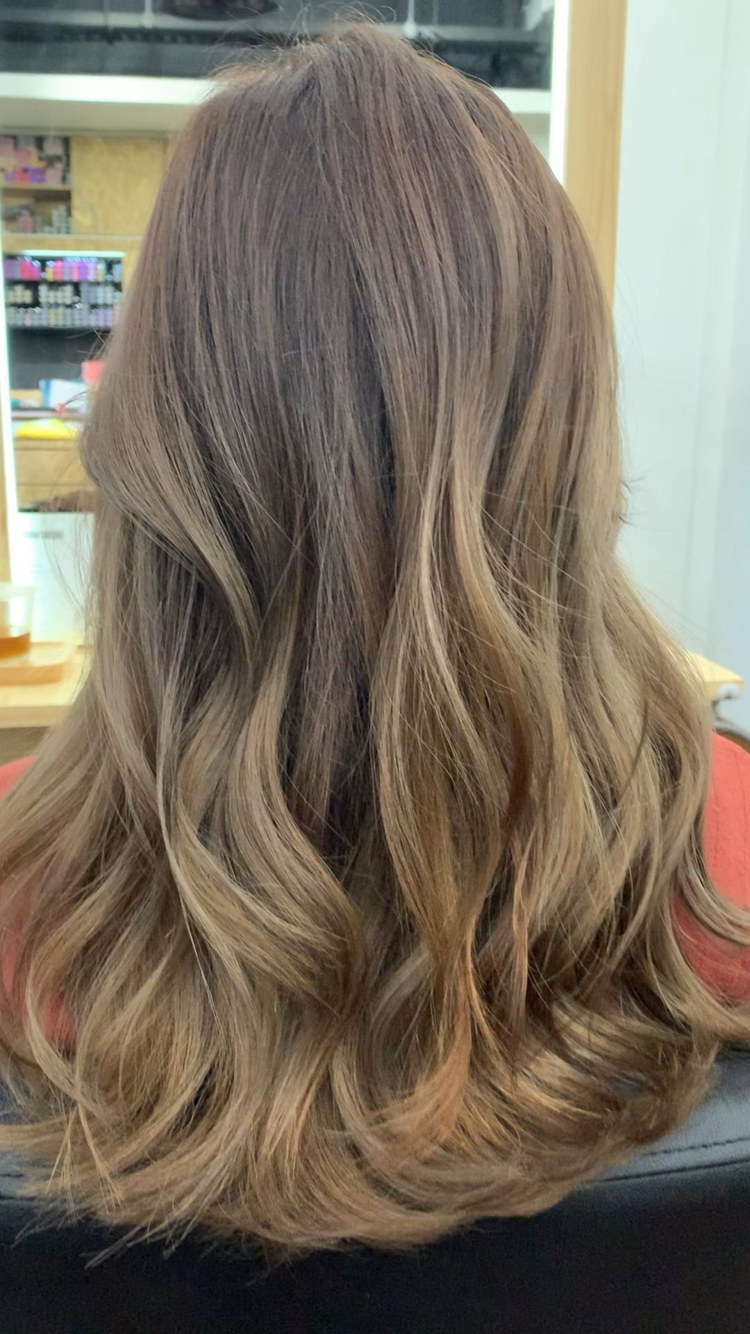 Photo of Cool Tone Brown with Highlights