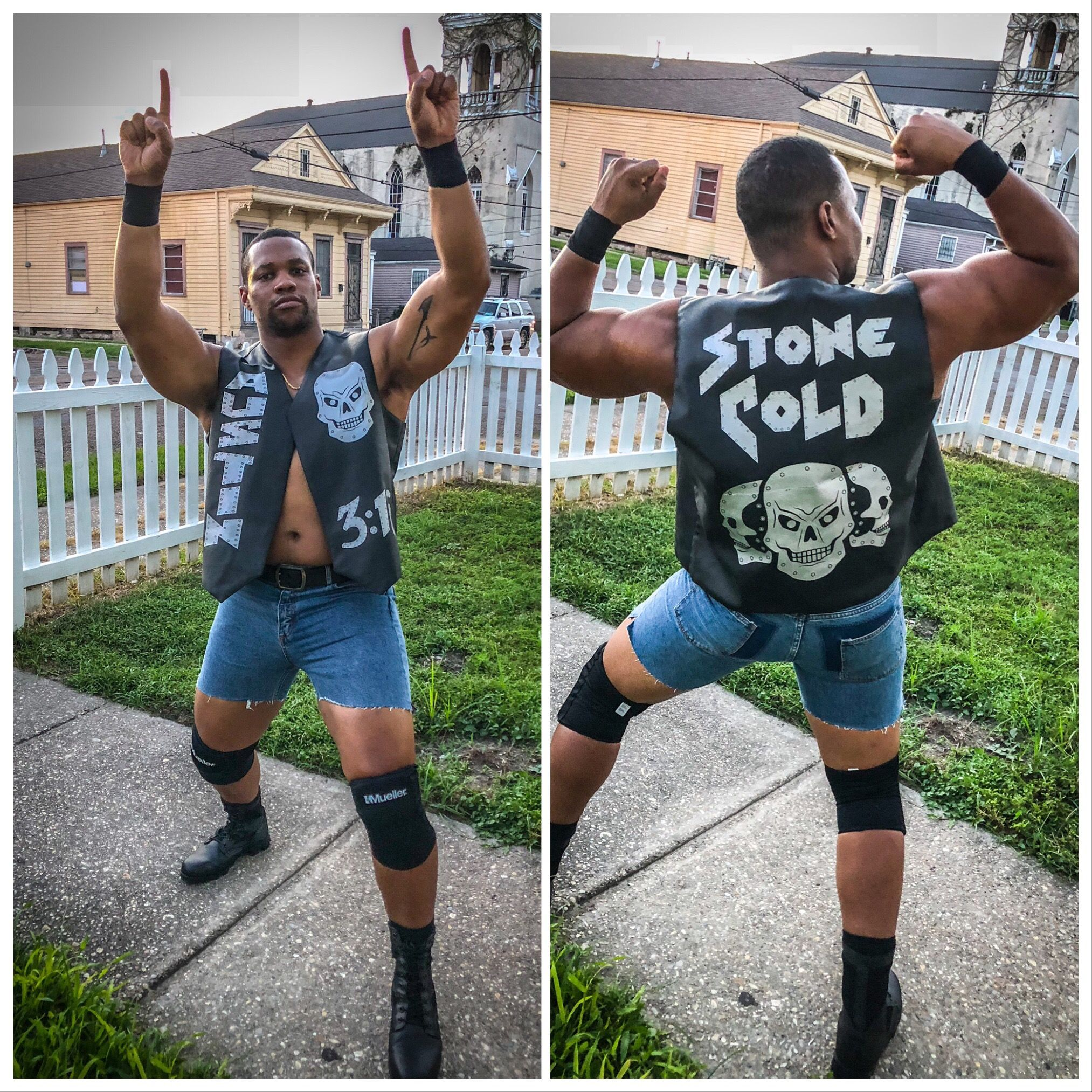 Stone Cold Steve Austin Halloween Costume Couples Costumes