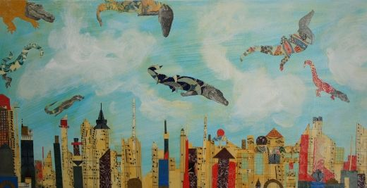 Flying Alligators on the Loose