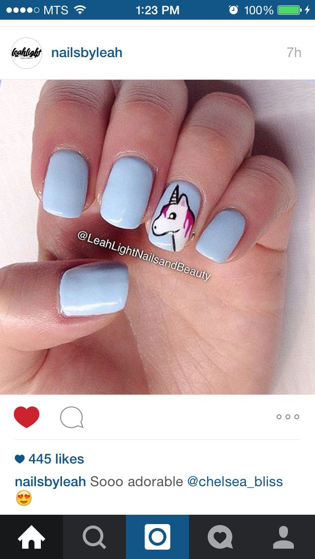 unicorn nails | Nail art | Pinterest | Unicorn nails, Unicorns and ...
