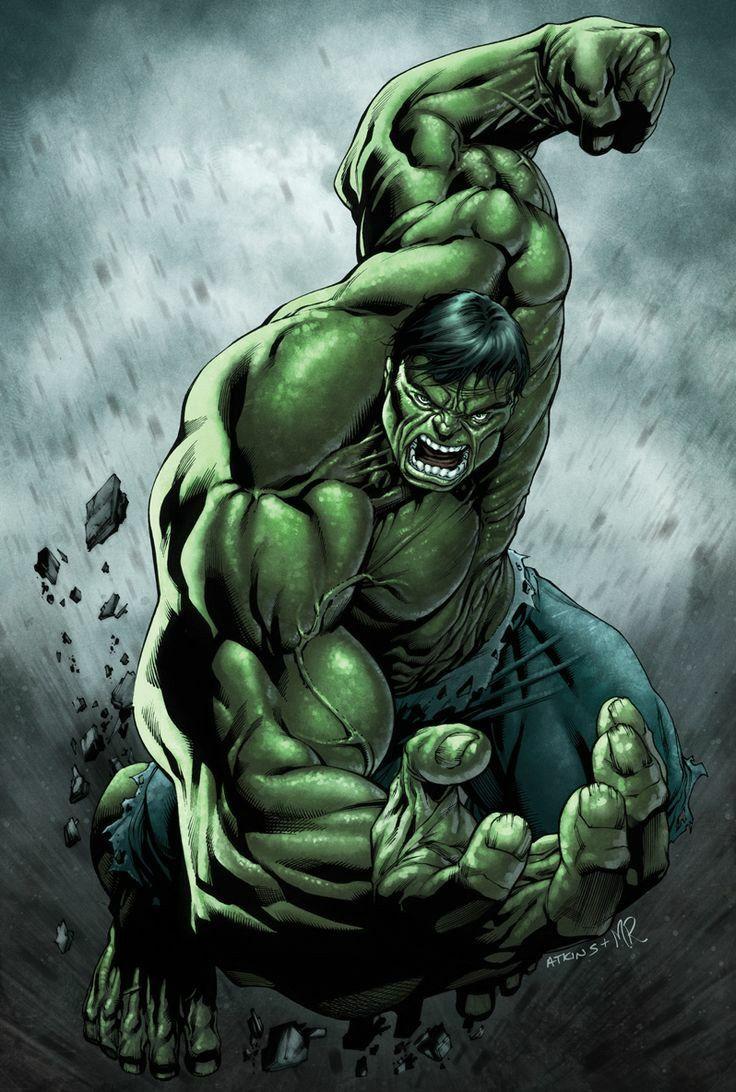 The Hulk | Hulk | Pinterest | Marvel, Incredible hulk and Comic