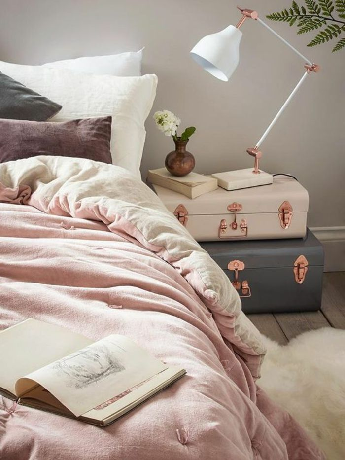 ▷ 1001 + idées pour chambre rose et gris, les nouvelles ...