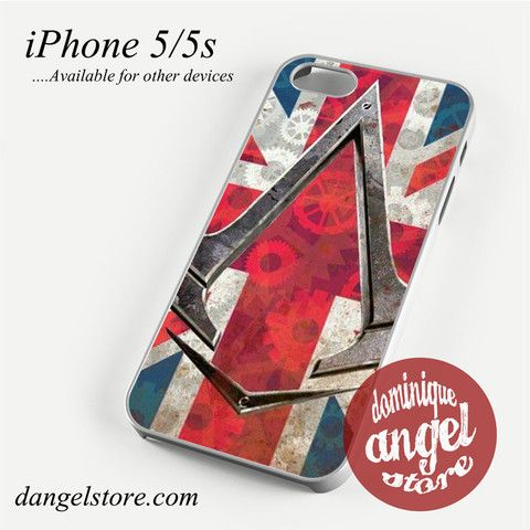 Assassin Creed Syndicyte london Phone case for iPhone 4/4s/5/5c/5s/6/6 plus