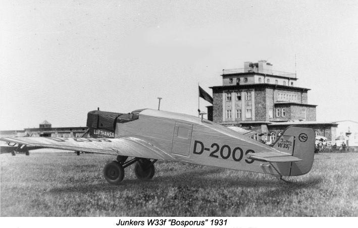 """Junkers W33f """"Bosporus"""" (Scale model 1:72)"""