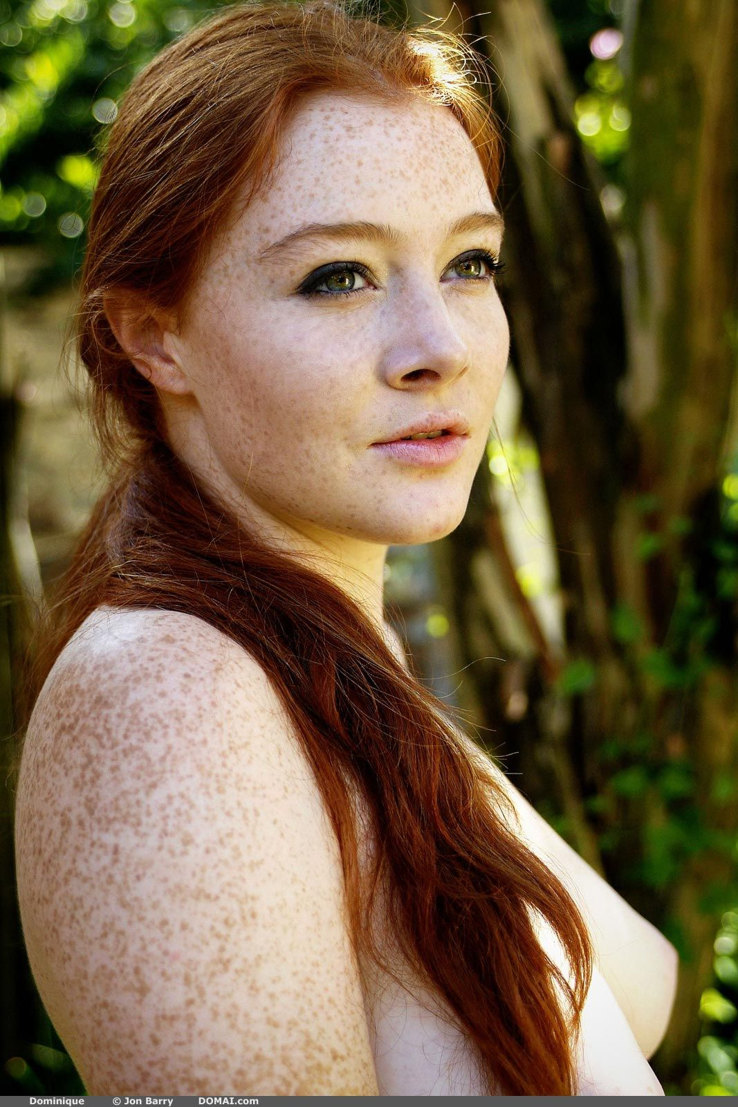 Redhead Dominique | Redheads freckles, Red haired beauty