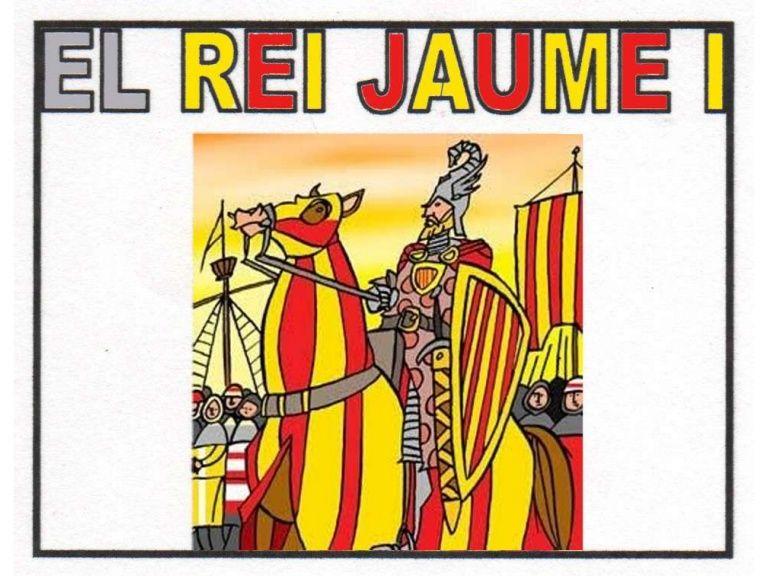 Power point sencillo sobre Jaume I para Ed. primaria
