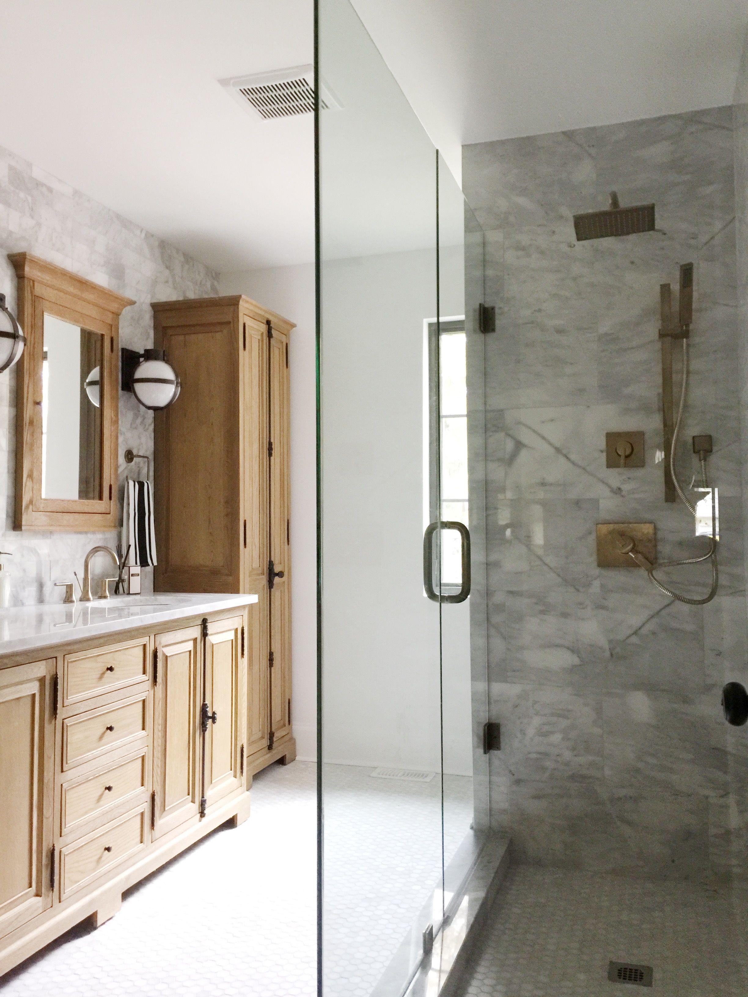 Modern Boho Bathroom Renovation Reveal