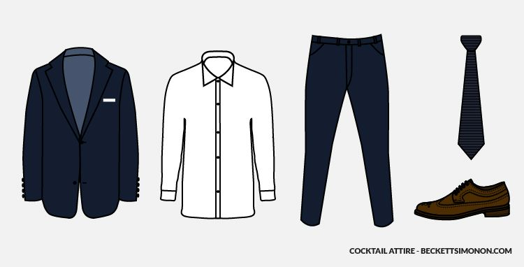 Cocktail Attire For Men? – The Most Popular Dress Codes Explained ...