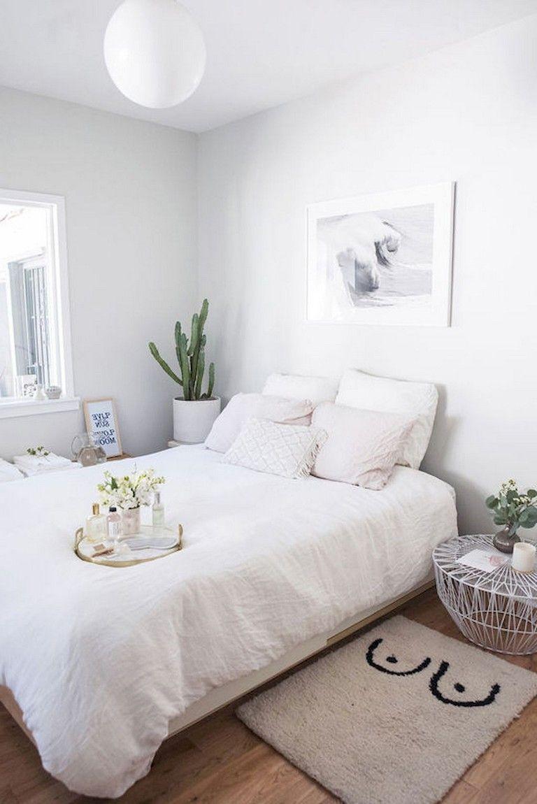 58 Comfy Minimalist Bedroom Decor Ideas Small Rooms Minimalist