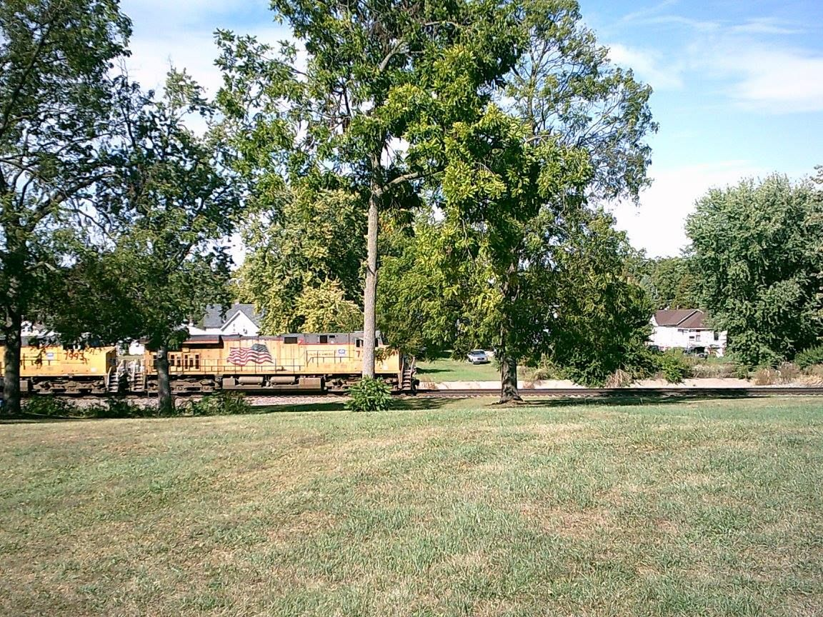 Union Pacific Eastbound On Chillicothe Sub Galesburg Railfanning Oct 1 2017 Galesburg Plants Oct 1
