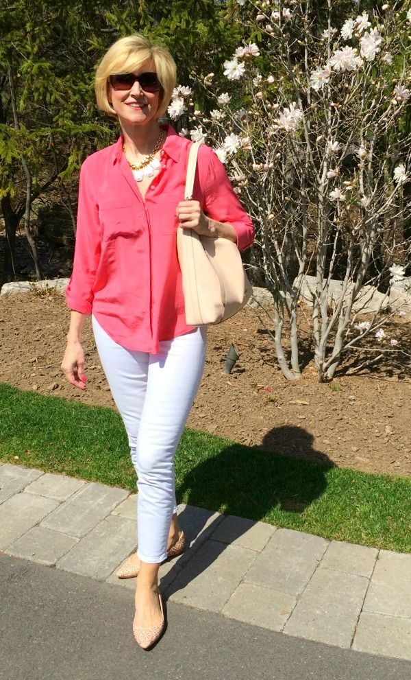 7 Ways Not To Look Fat in White Pants ... Deborah Boland Fabulous ...