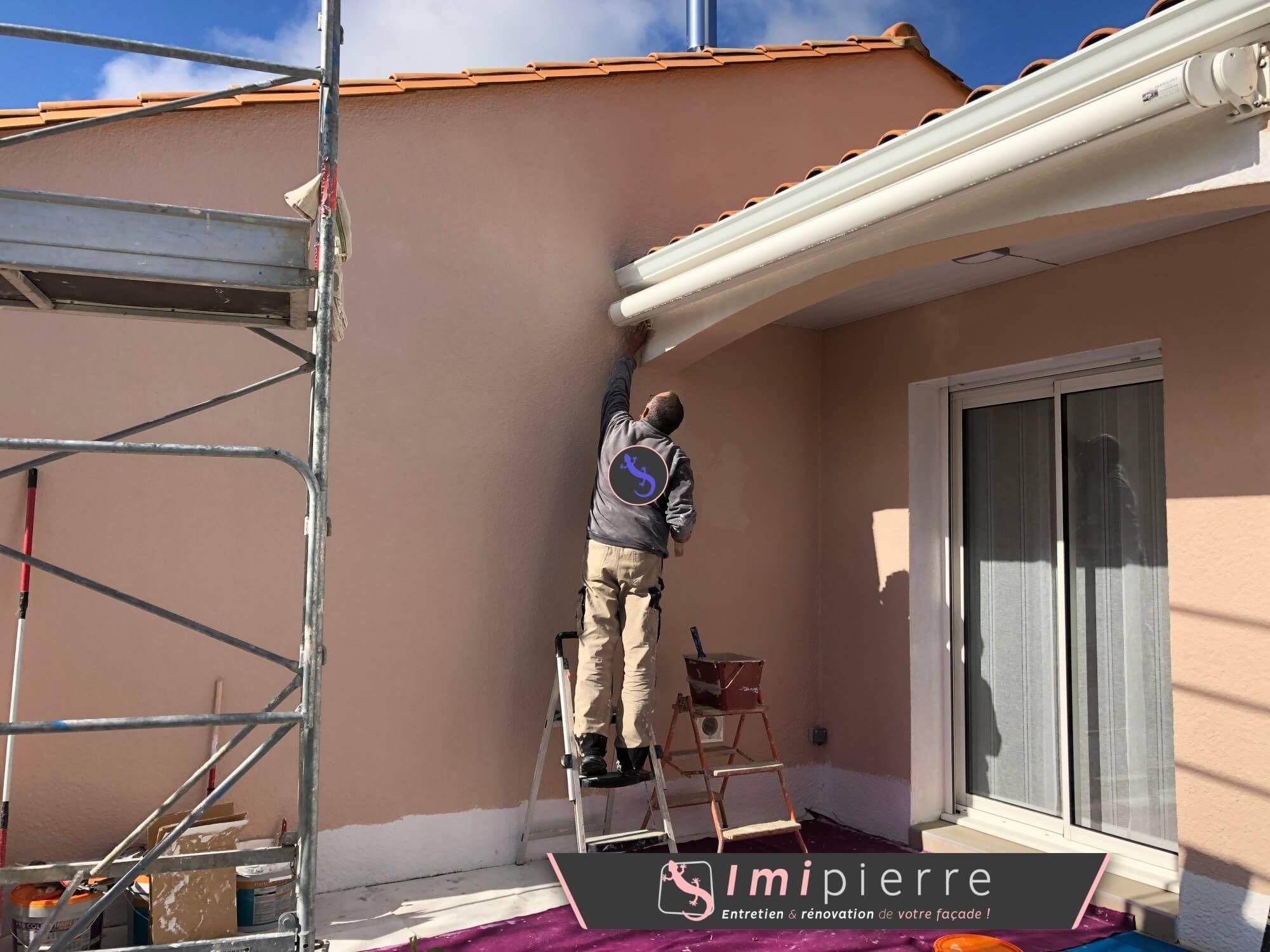 Couleurs Facades En Provence jolie couleur pour cette rénovation de #façade par imipierre