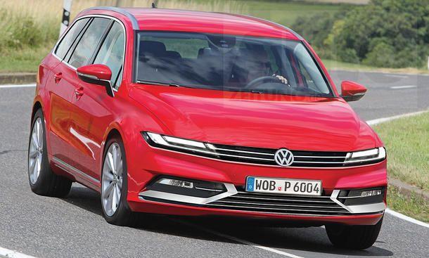 Vw Passat Variant B9 2021 Erste Informationen Vw Passat Variant Vw Passat Volkswagen