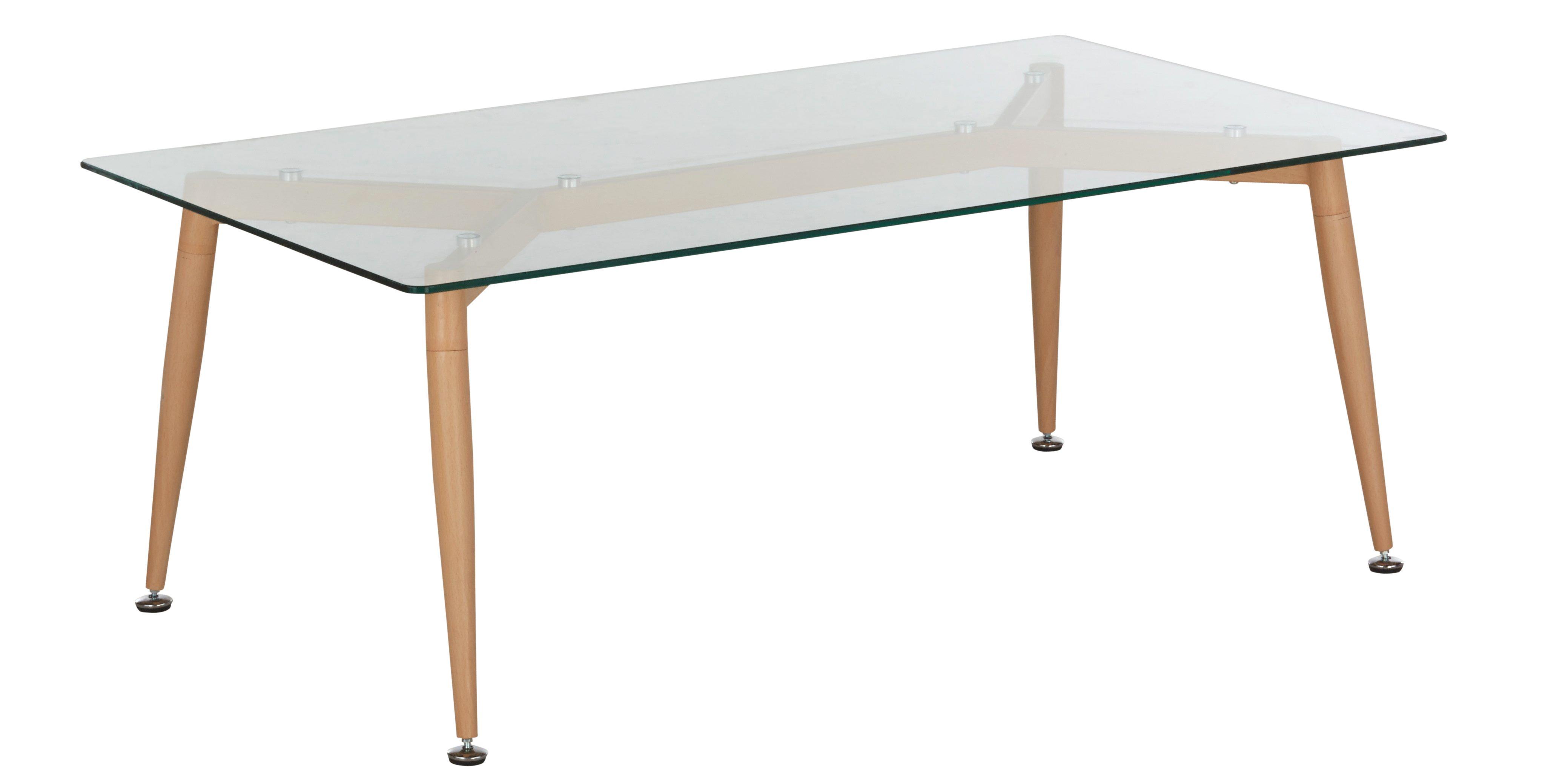 Table rectangle AGNETA Chªne sonoma