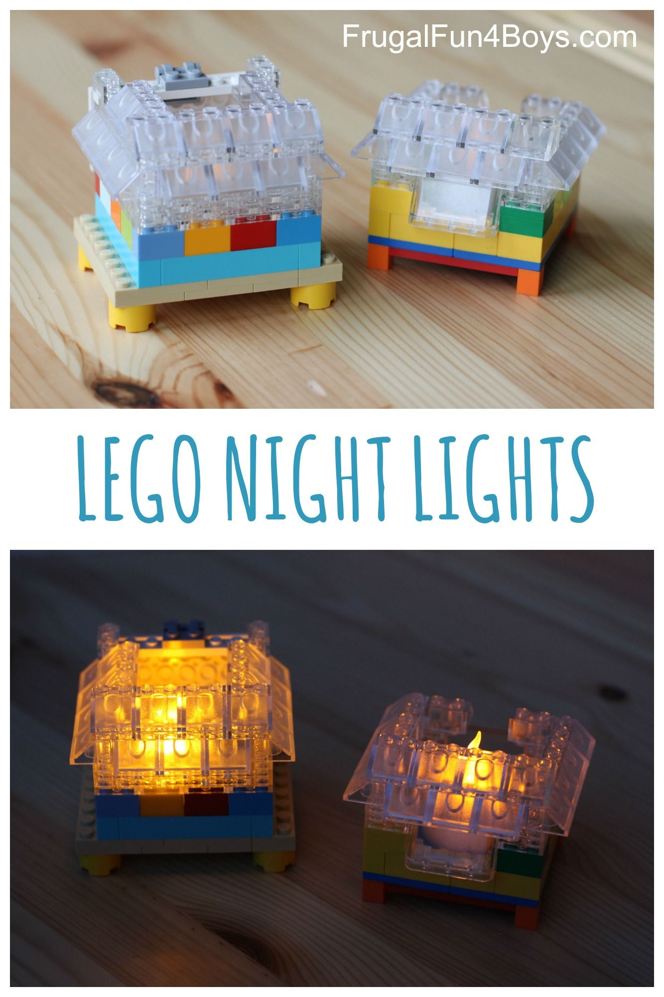 How to Build a LEGO Night Light   Games   Activities   LEGO     The dark is less scary when you have a LEGO night light  You and your child  can build your own night light with these clever instructions