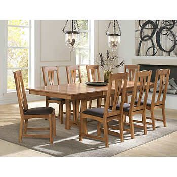 Annora 9 Piece Dining Set Dining Table Chairs 7 Piece Dining Set Dinning Room Tables