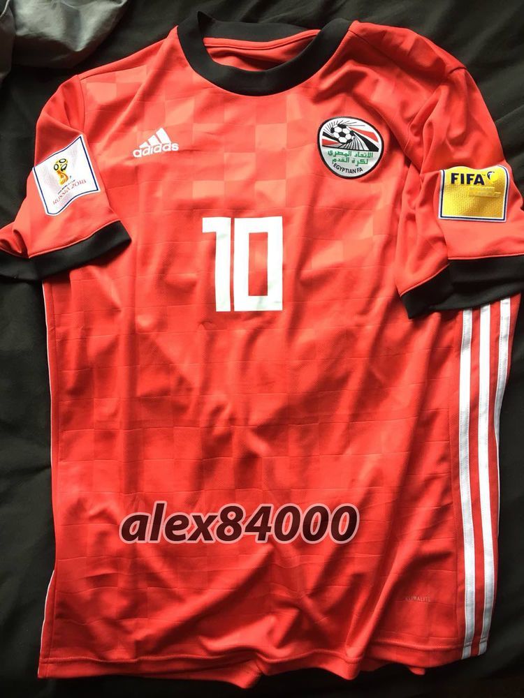 97a11af21 New Egypt Jersey Soccer WORLD CUP 2018 HOME SHIRT ADULT SIZES Football BNWT  TOP  adidas  Egypt
