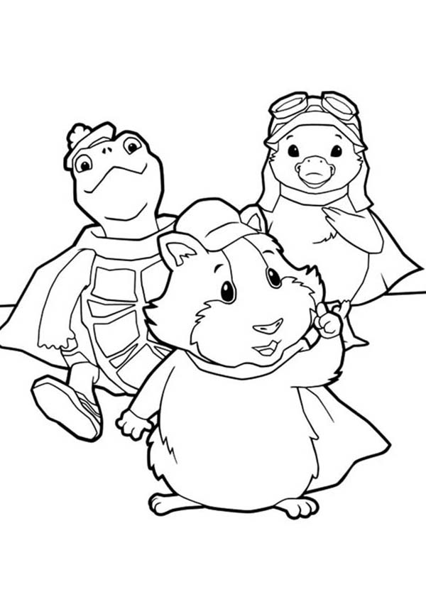 The Amazing Wonder Pets Coloring Page : Coloring Sun in ...