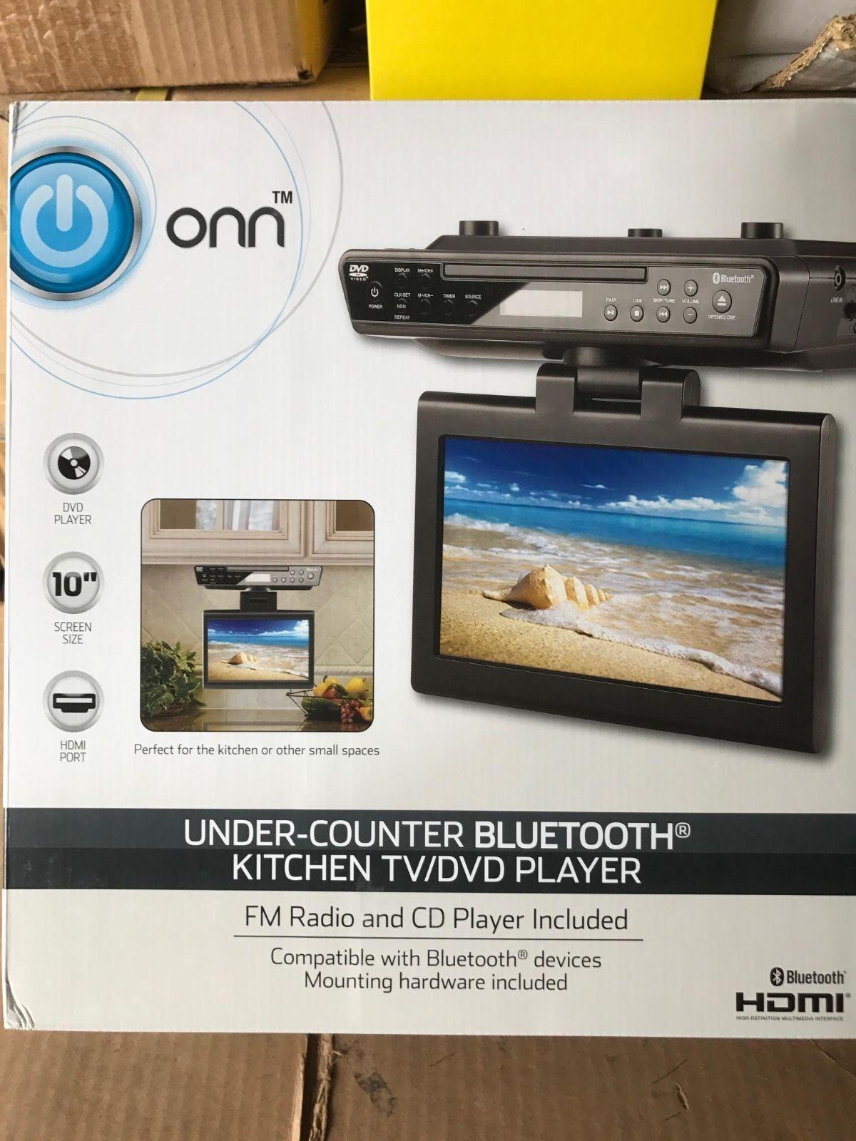 Kitchen Stereo Under Cabinet Dvd And Blu Ray Players Brand New Onn Ona16av011 Under Kitchen