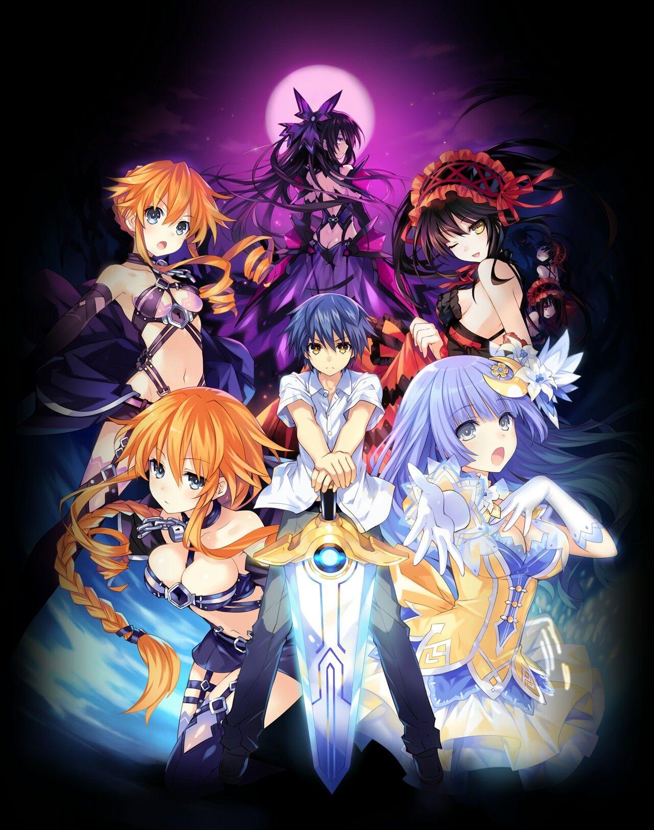 Date a Live project wallpaper // Top_vsl0501 Anime, Hình