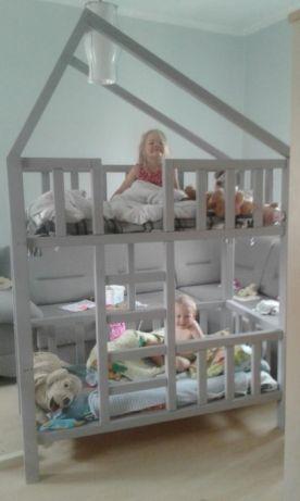 łóżko Piętrowe Domek Na Zamówienie Wszystkie Kolory I Wymiary