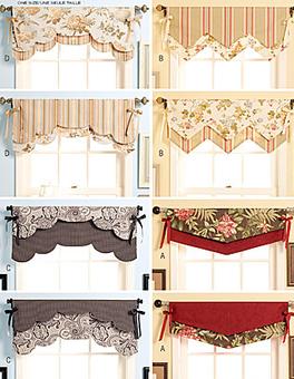 cantonniere pour tete de rideaux