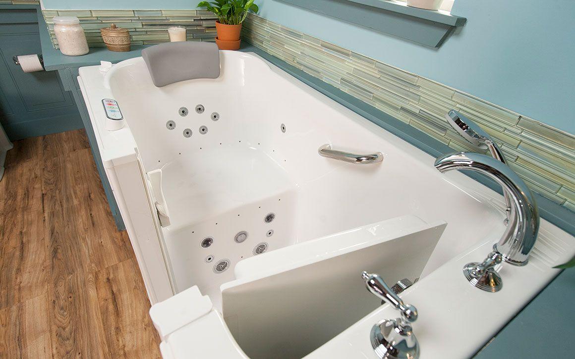 Walk In Tub Photos With Images Walk In Tubs Tub Dream Bathroom