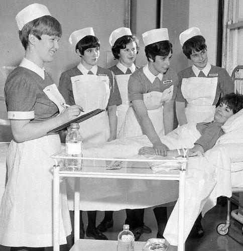 Vintage Nurse, Nurses Day