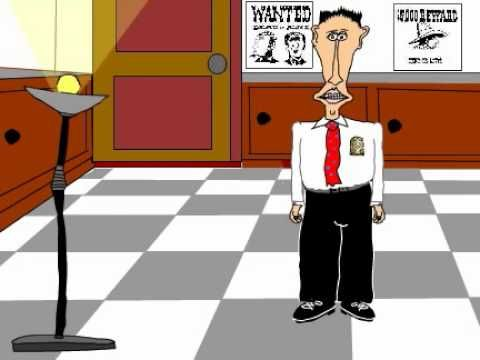 Good Cop Bad Cop Birthday Animating Rubber Chicken Card Politics