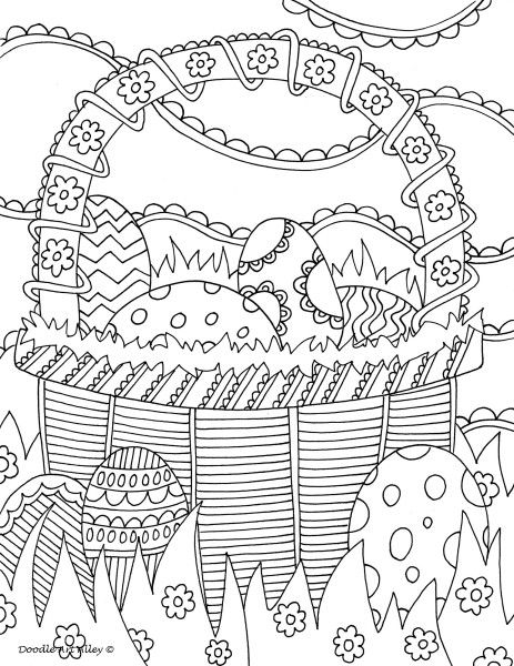 Pin by NANCY PETERS on Spring coloring pages Easter