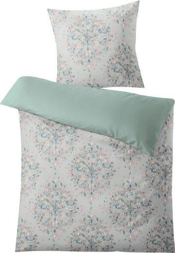 Wendebettwäsche »Amber«, Kleine Wolke, mit Blumenmandala