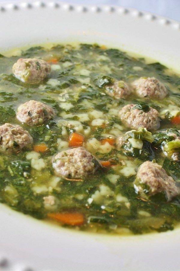 Italian Wedding Soup I Recipe Wedding Soup Italian Wedding Soup Recipe Italian Soup
