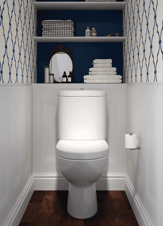 Bathline Bathroom Cloakroom Design Bathrooms Northern Ireland In 2020 Small Toilet Decor Small Bathroom Makeover Toilet Room Decor