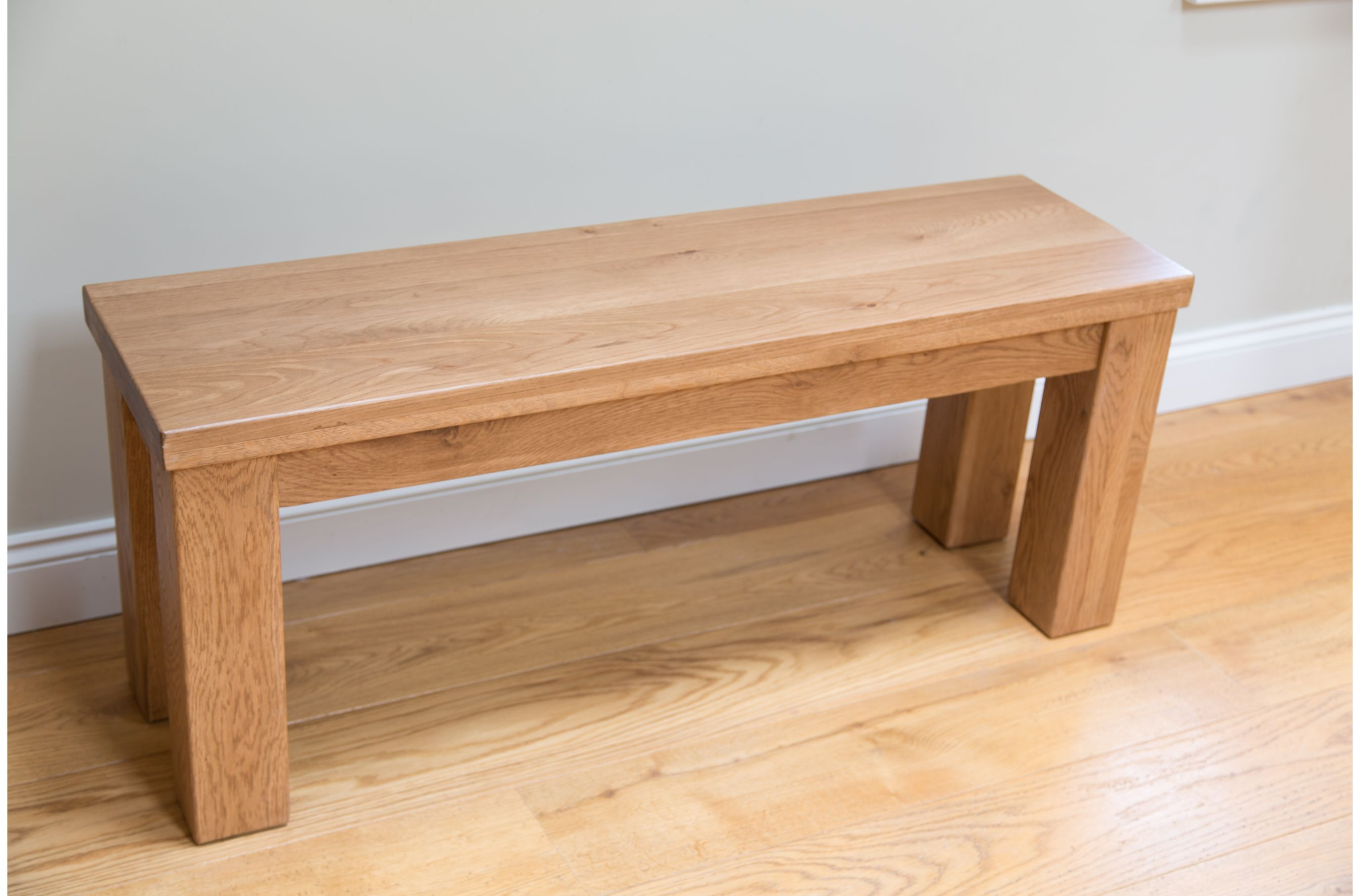 Another Entryway Bench Idea, I Like The Thick Legs Wooden Dining Bench, Oak  Bench