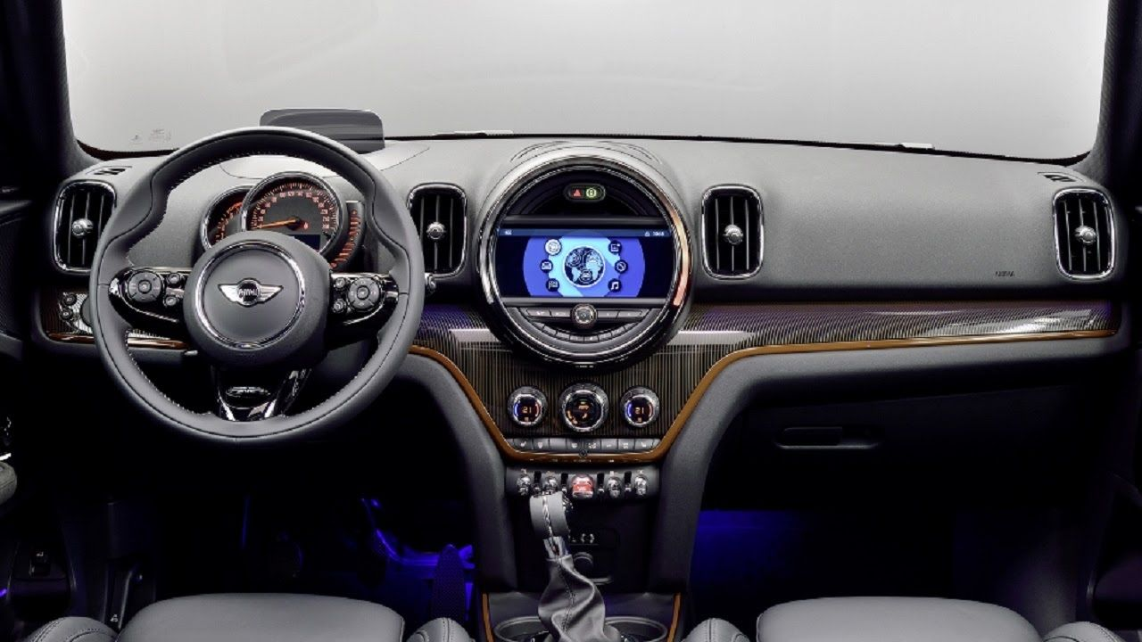 2017 Mini Countryman Interior Cooper Models S