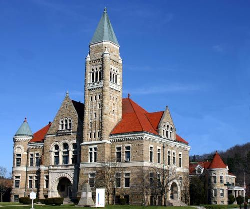 Elkins, WV : Randolph County Courthouse