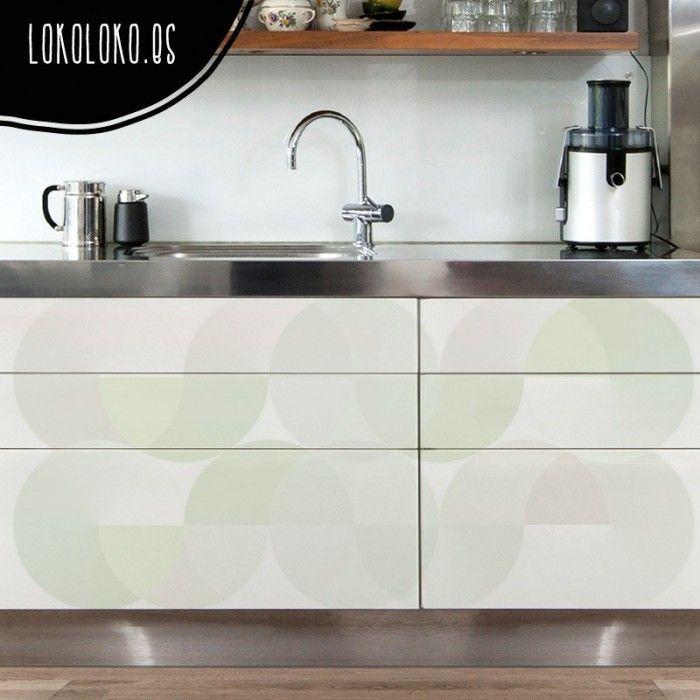 Esferas Verdes Gradientes | Muebles de cocina, Diseños geométricos y ...