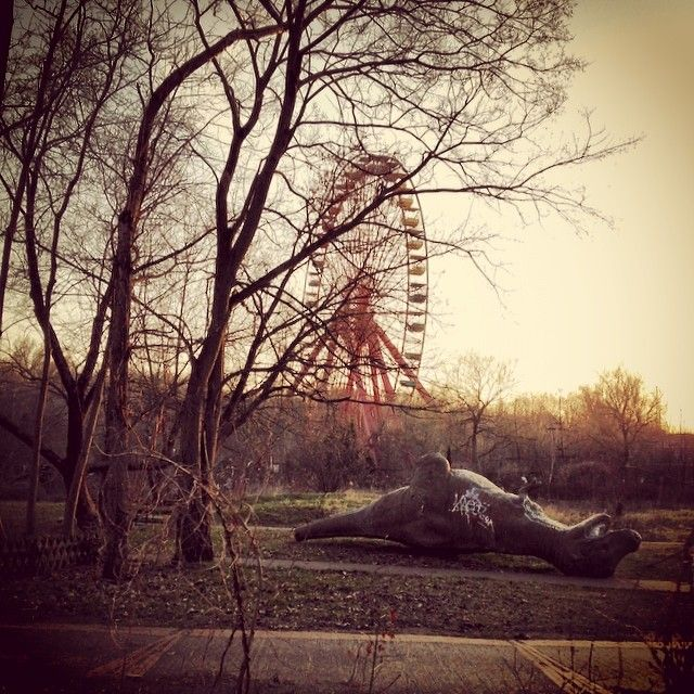 Abandoned German Theme Park Is A Photographer's Thrill