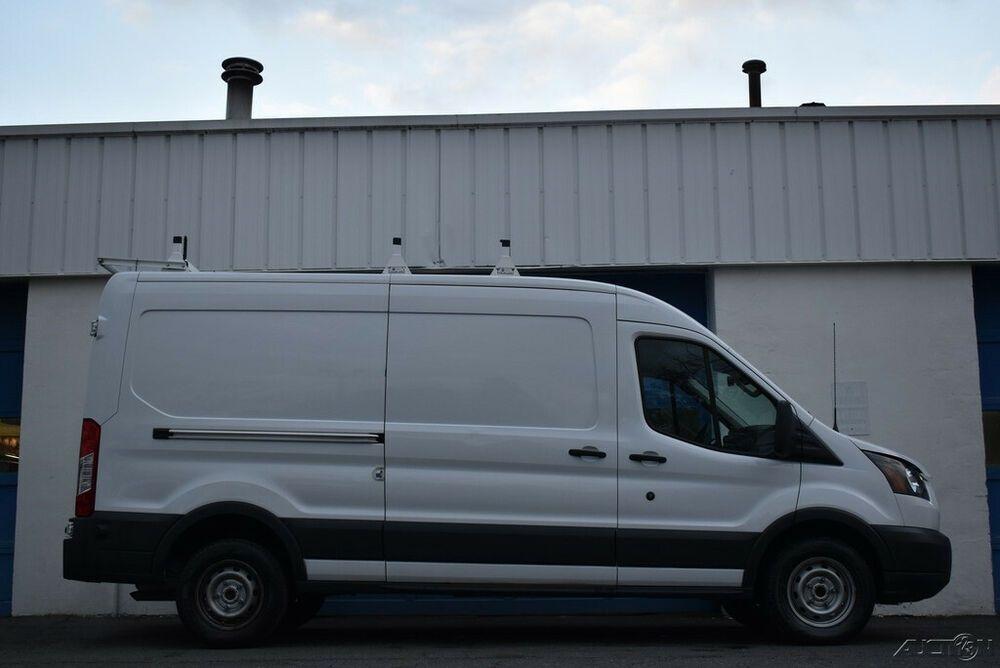 2018 Ford Transit 250 Medium Roof Cargo Van 147 6 In Wb W Sliding Pass Side Door In 2020 Ford Transit Cargo Van Van