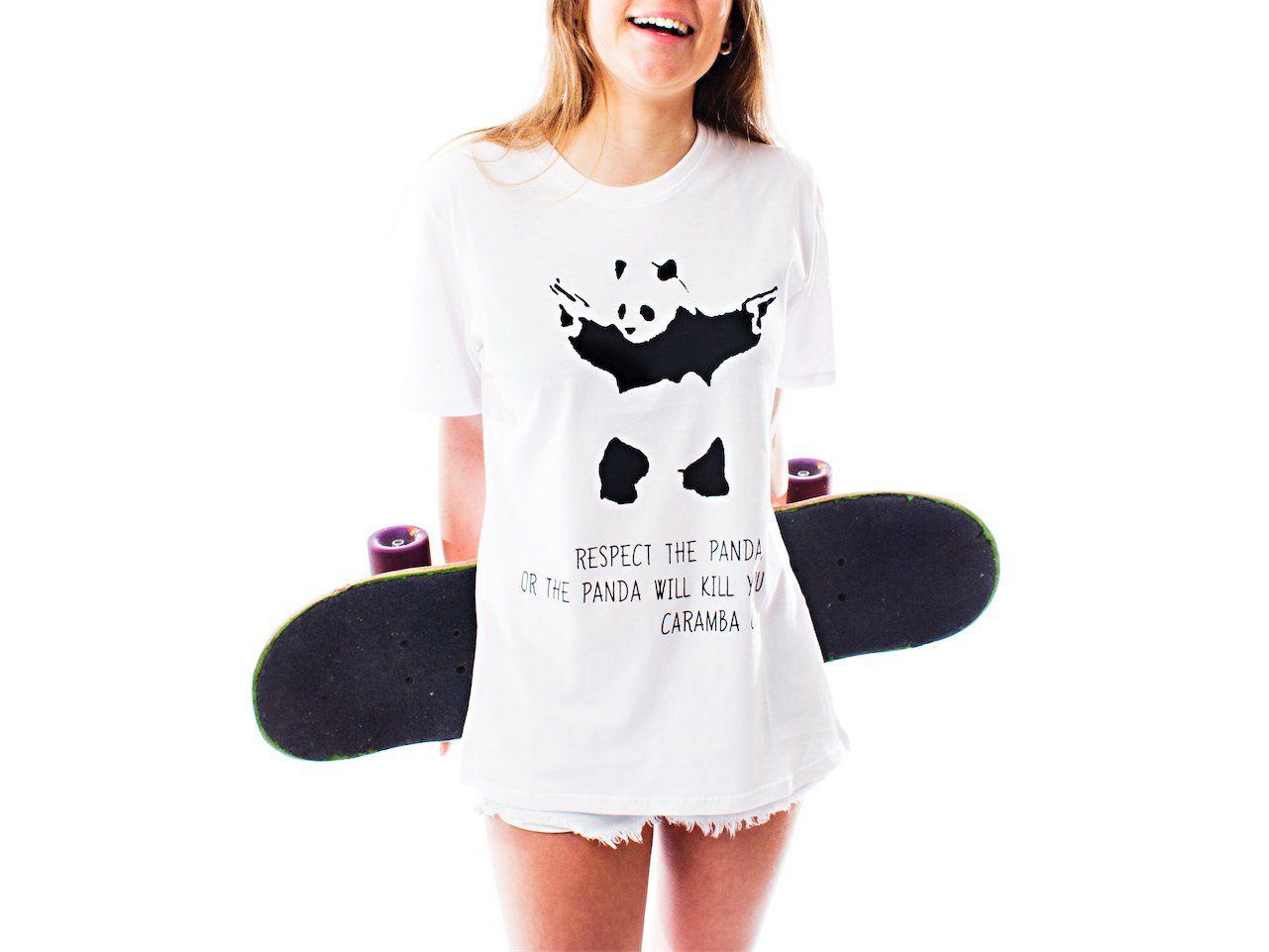 Respect the panda, or the panda will kill you - Caramba Company