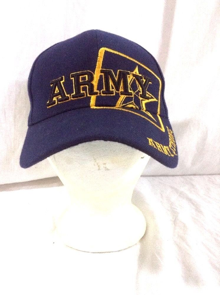 88305554f17c2 Army Strong Hat Strapback Adjustable Military Cap  BaseballCap ...