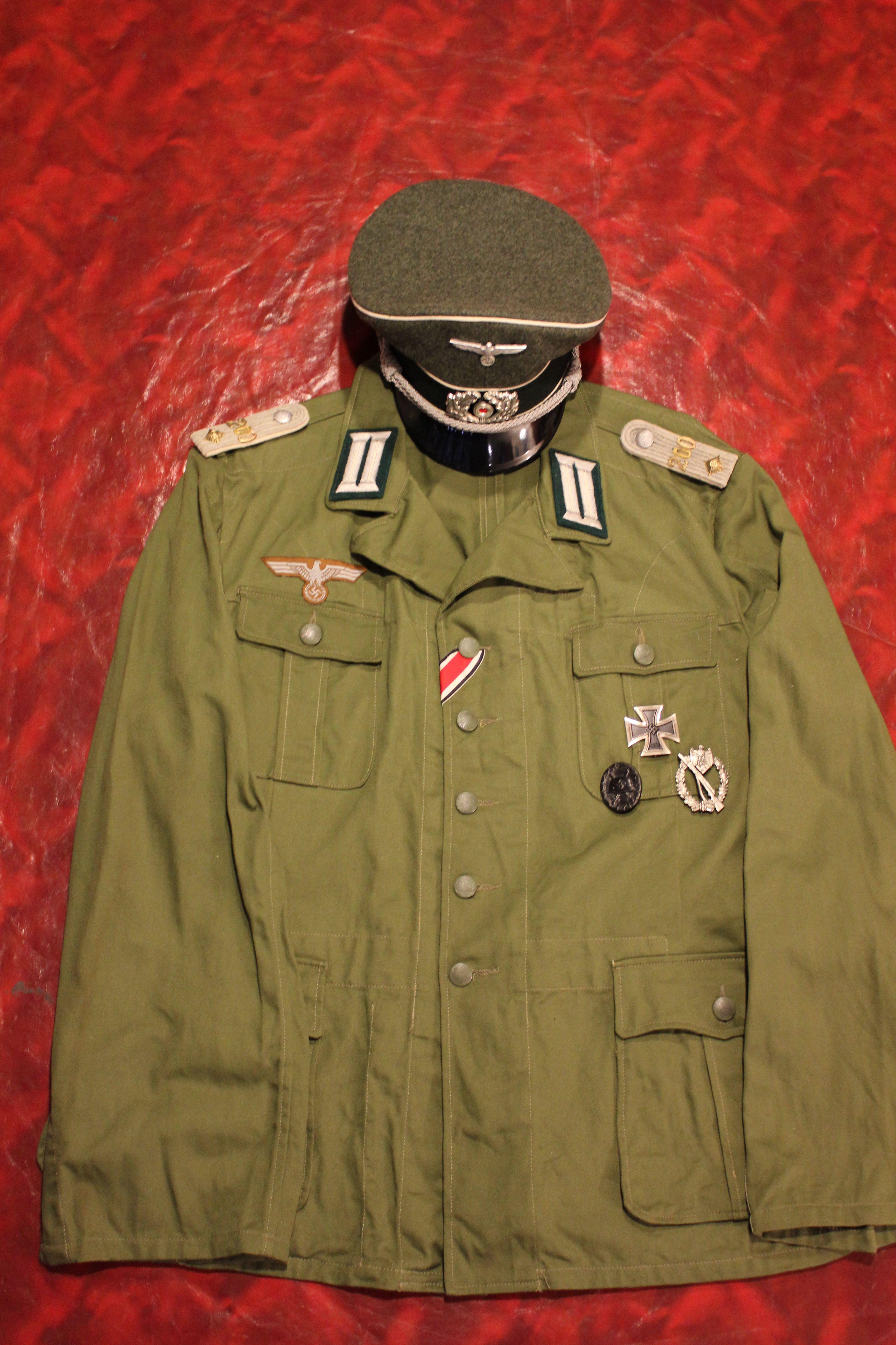 aaa0d4f1eca DAK Officer, Inf. Rgt 200 | Военна история / Military hystory ...