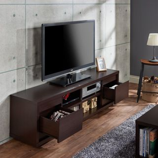 Shop For Furniture Of America Irvine Contemporary 70 Inch Entertainment TV  Console And More For