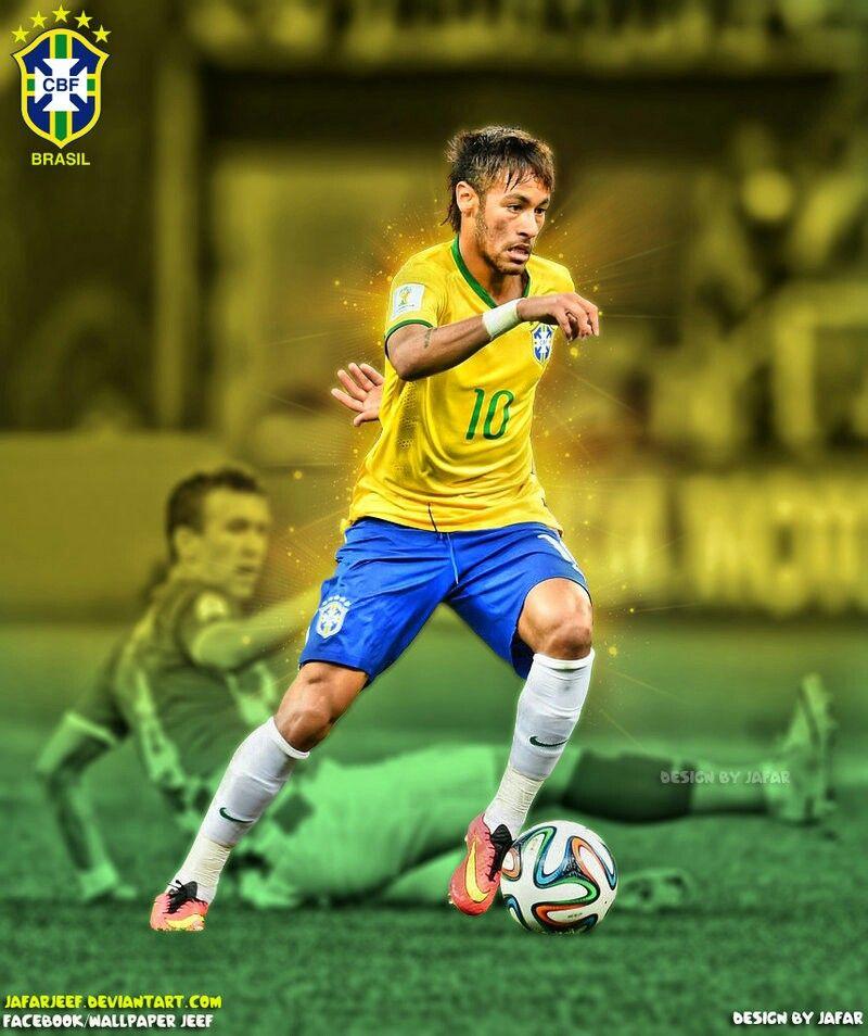 Neymar Brasil Wallpaper Selecao Brasileira Futebol Neymar