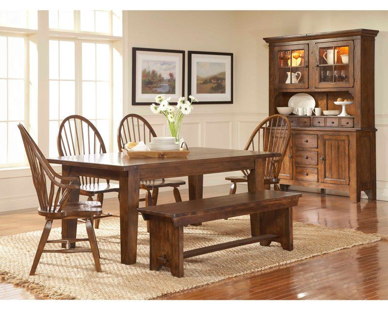 20+ Oak dining set with hutch Various Types