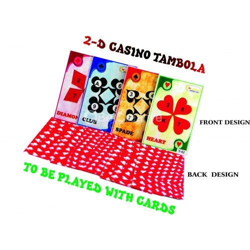2D Casino Tambola - For group of 20 members