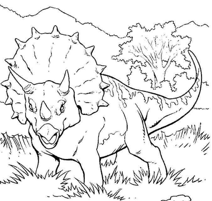Dinosaurier 70 Ausmalbilder | colorbook | Pinterest