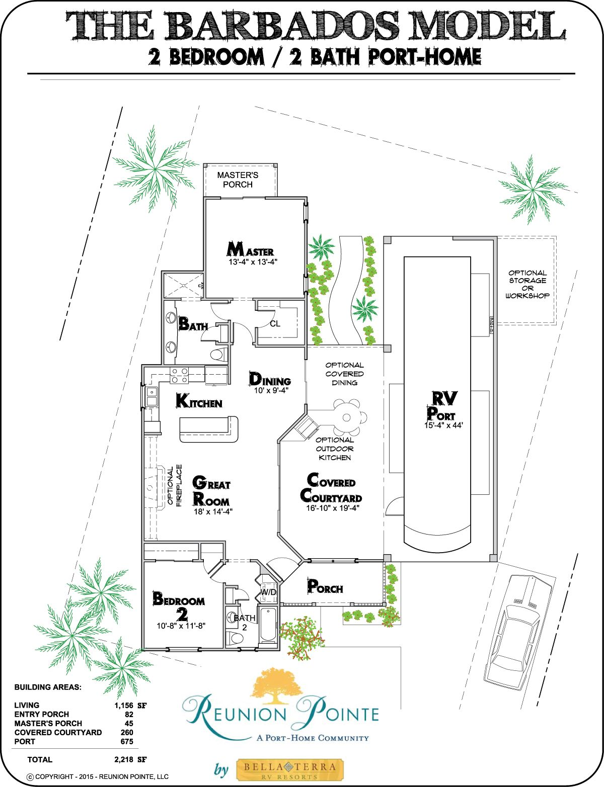Reunion Pointe features four RVerdesigned floor plans