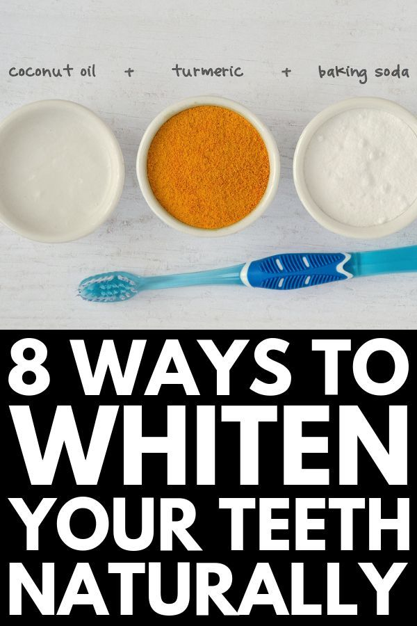 How to Whiten Teeth Naturally  If you want to know how to whiten your teeth at home with baking soda with coconut oil and other natural ingredients this post is for you W...